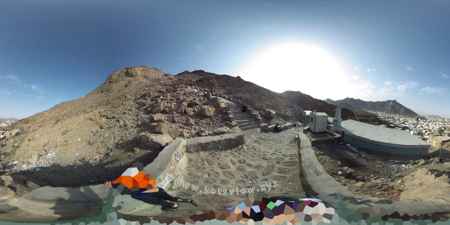 Jabal al-Nour Makkah, Hira Cave 360º Virtual tour by Kashif